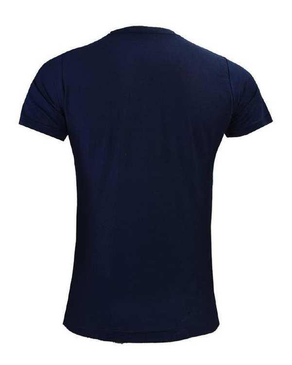 تی شرت مردانه سرمه ای TS134 تکنیک