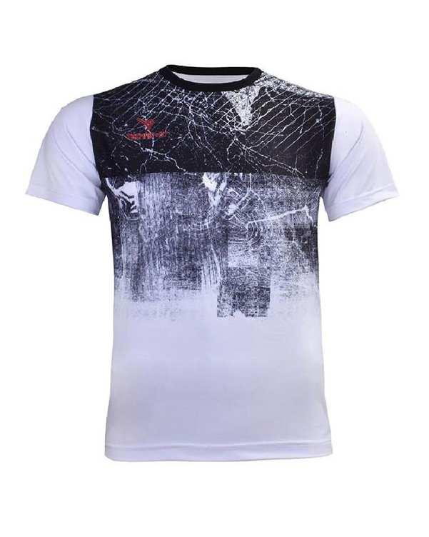 تی شرت مردانه سفید TS134 تکنیک