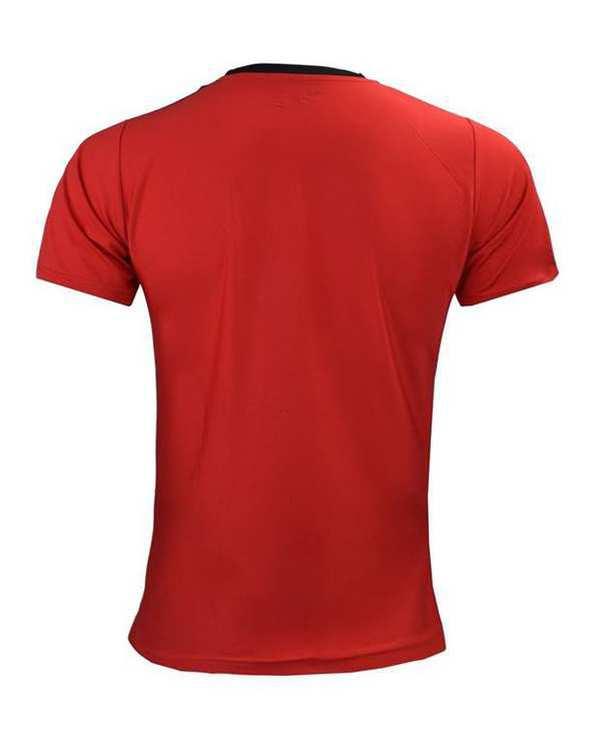 تی شرت مردانه قرمز TS134 تکنیک