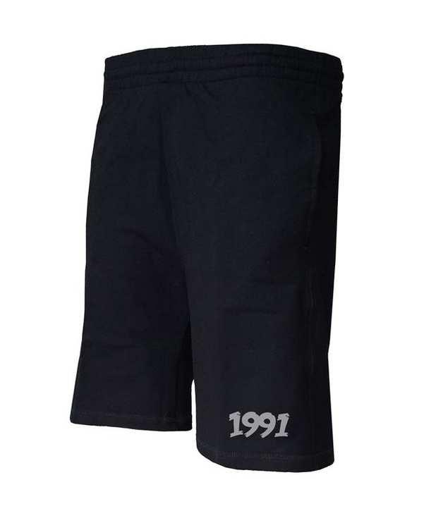 شلوارک ورزشی مردانه مدل Cotton jersey مشکی 1991
