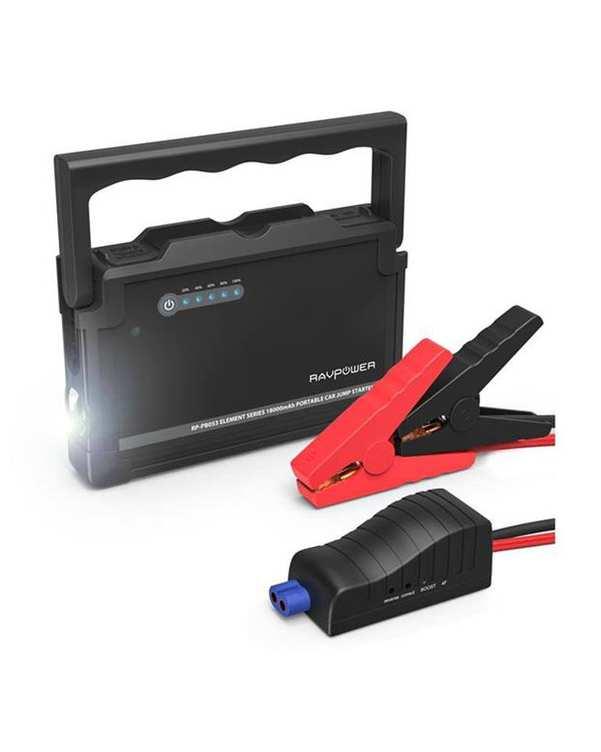 پاوربانک و استارتر خودرو RP-PB053 ظرفیت 18000 RAVPower