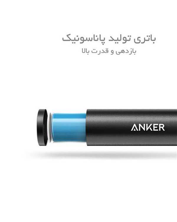 پاور بانک A1104 PowerCore Plus Mini ظرفیت 3350mAh انکر