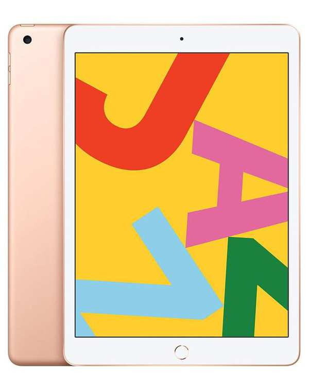 تبلت آیپد 7 وای فای با ظرفیت 128 گیگ طلایی