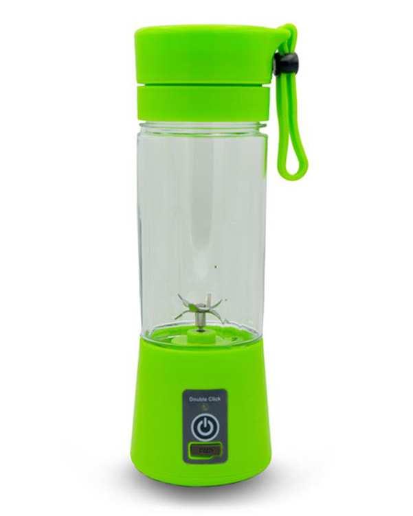مخلوط کن شارژی شش تیغه مدل Juice سبز 0.4 لیتر