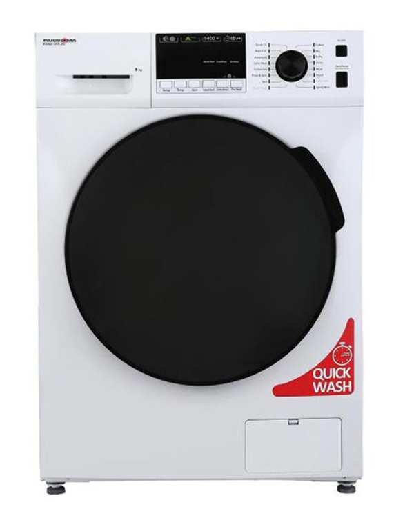 ماشین لباسشویی مدل TFU-84401 ظرفیت 8 کیلوگرم پاکشوما