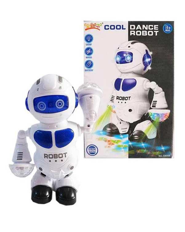اسباب بازی سفید مدل ربات کد 5905
