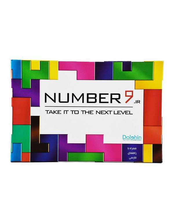 بازی فکری مدل number9 به همراه روبیک ماری