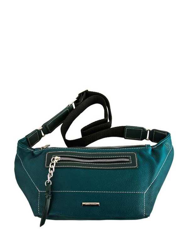 کیف کمری زنانه مدل Cm5407 سبز آبی دیوید جونز