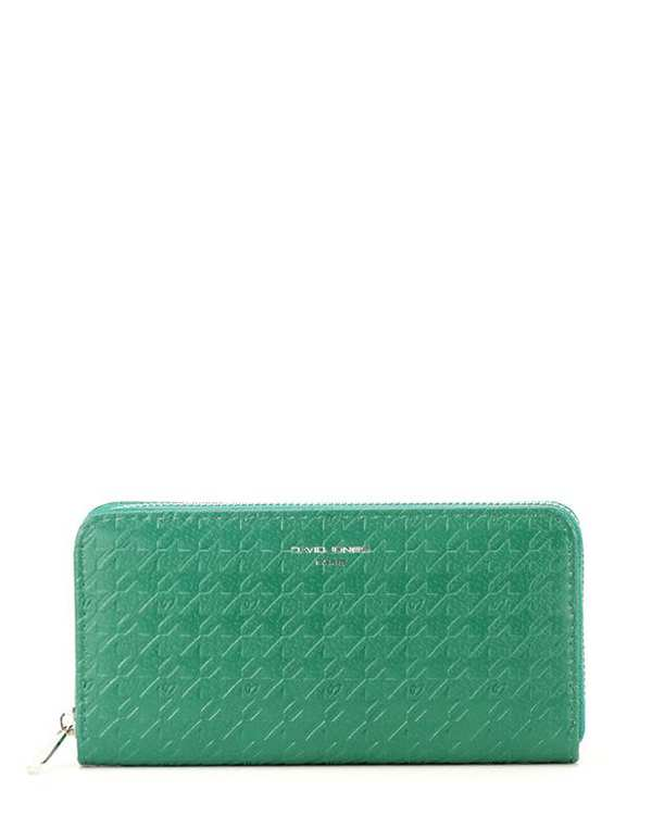 کیف پول زنانه مدل P094-510 سبز دیوید جونز