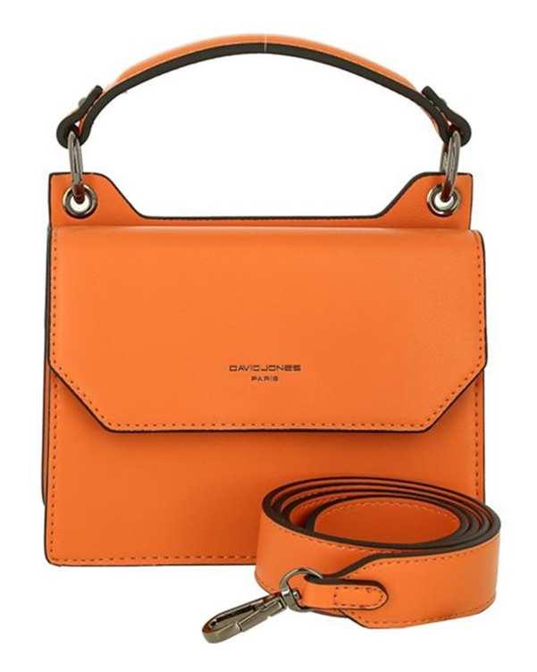 کیف زنانه دوشی مدل cm5646 نارنجی دیوید جونز