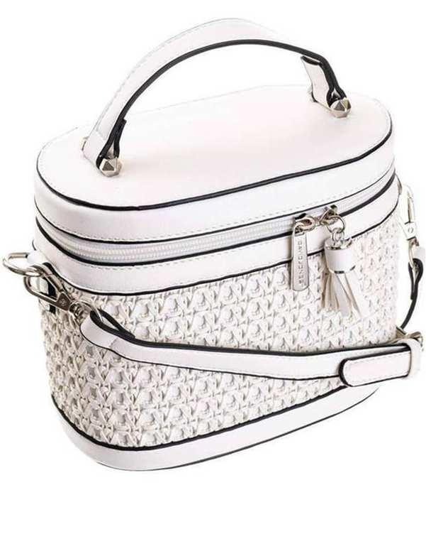 کیف زنانه دوشی مدل 5691 سفید دیوید جونز
