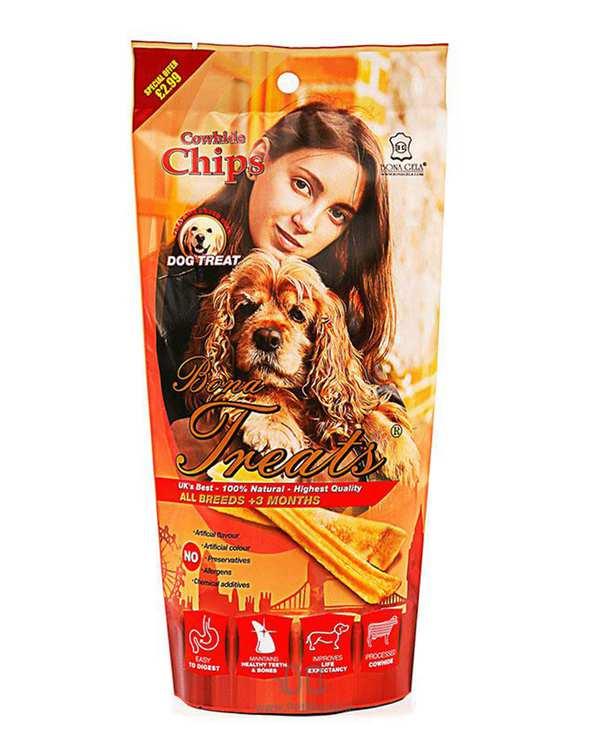 تشویقی سگ چیپسی ژلاتینی 80 گرمی بوناژلا
