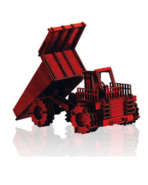 پازل سه بعدی چوبی مدل Miner پرشنگ