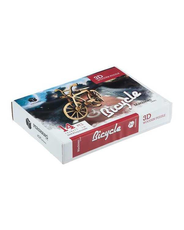 پازل سه بعدی چوبی مدل Bicycle پرشنگ