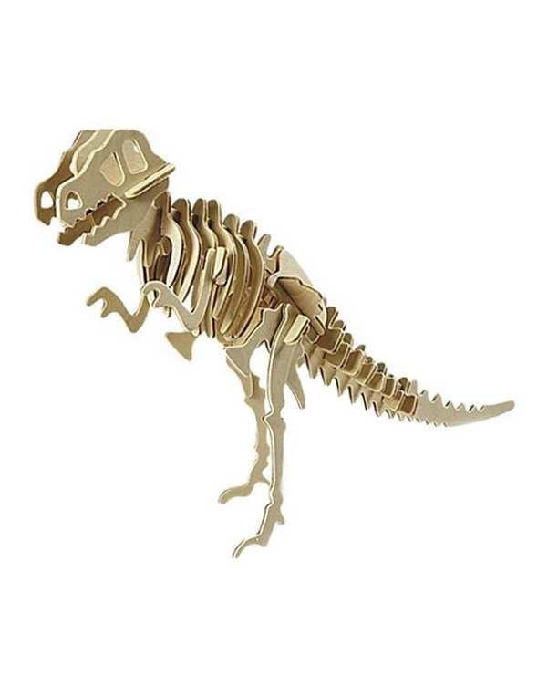 پازل سه بعدی چوبی مدل T.Rex پرشنگ