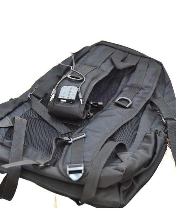 کوله پشتی مدل BB02 مشکی استار بگ