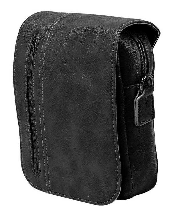 کیف چرم مردانه دوشی مدل SB03 مشکی استار بگ