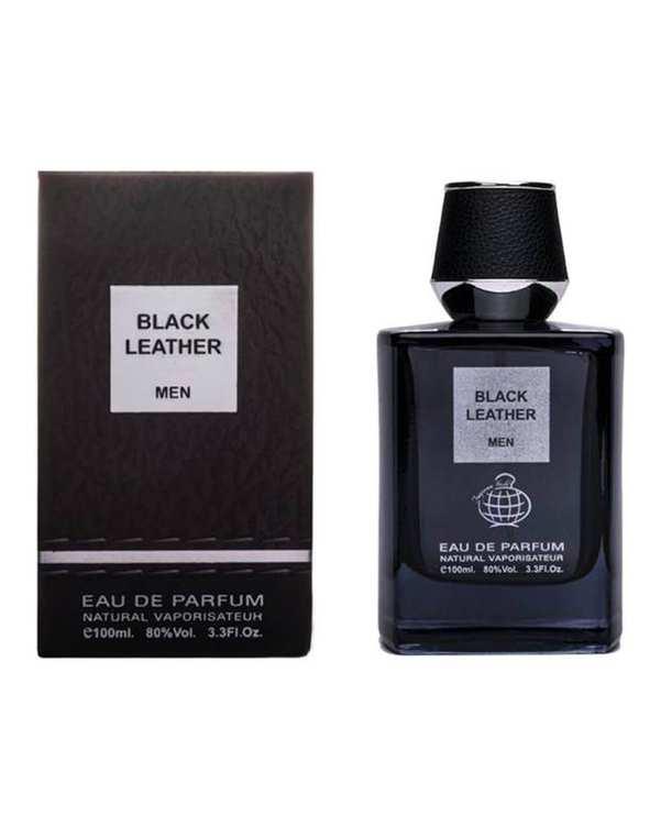 عطر مردانه 100ml Black Leather EDP فراگرنس ورد