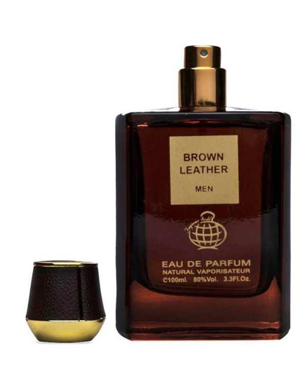 عطر مردانه 100ml Brown Leather EDP فراگرنس ورد