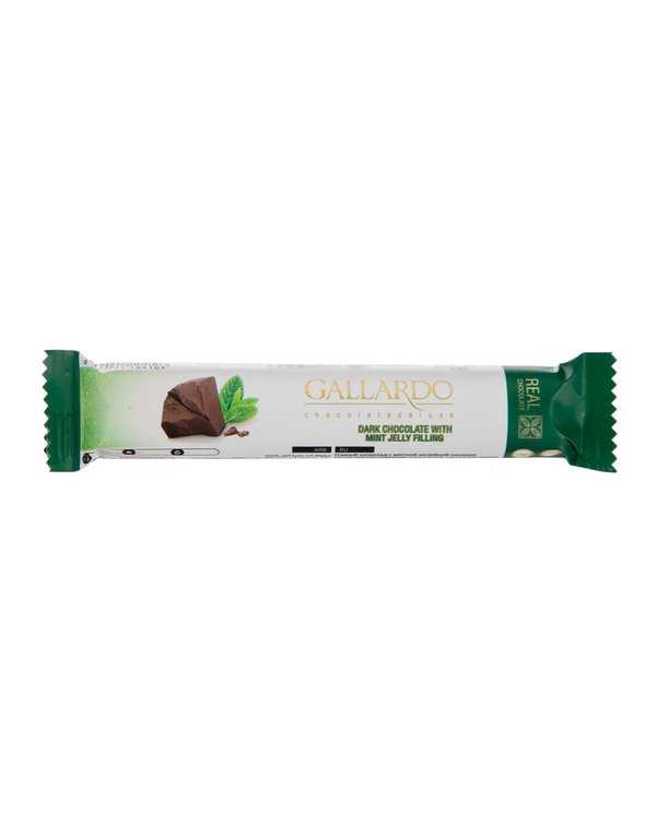 شکلات تلخ با مغز نعناع 25 گرمی گالاردو فرمند