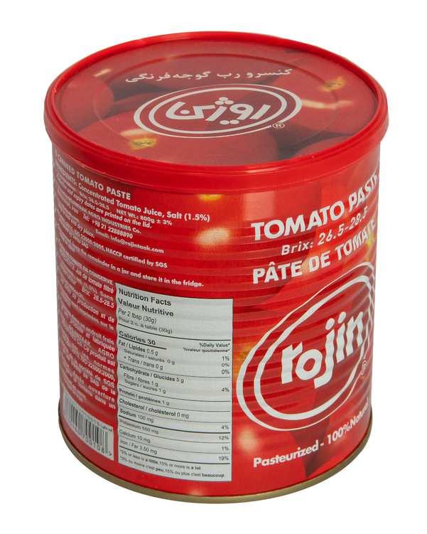 کنسرو رب گوجه فرنگی 800 گرمی روژین