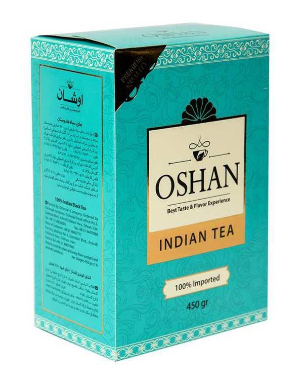 چای سیاه هندوستان 450 گرمی اوشان