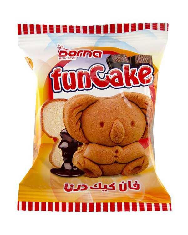 کیک عروسکی کرم کاکائو 35 گرمی درنا