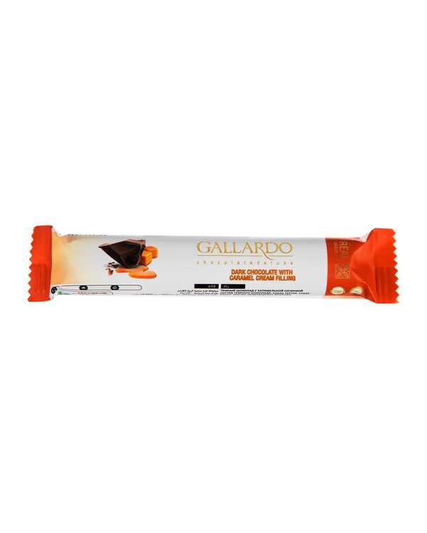 شکلات تلخ با مغزی کارامل 25 گرمی گالارد فرمند