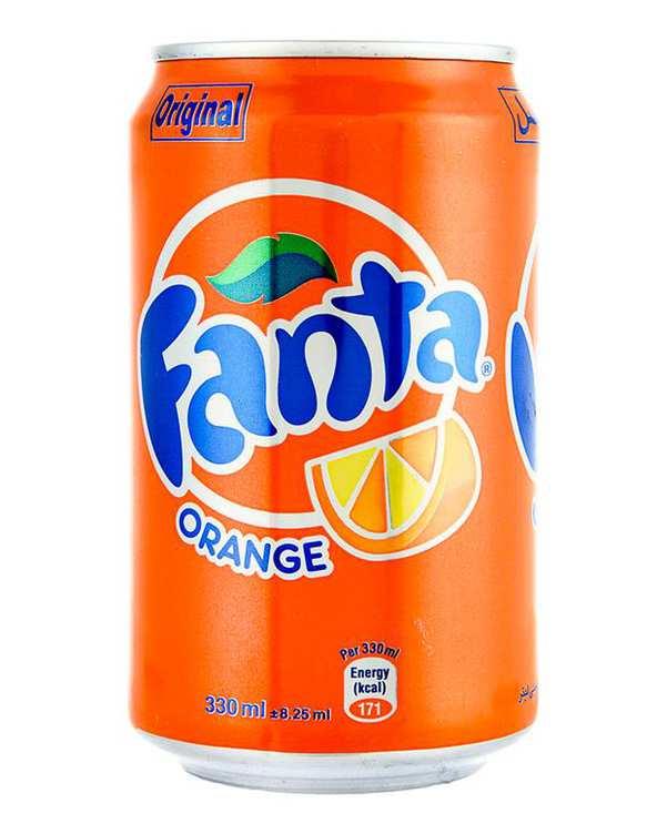 نوشابه پرتقالی 330ml فانتا