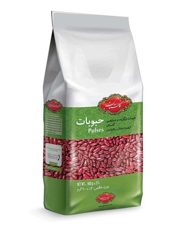 لوبیا قرمز 900 گرمی گلستان
