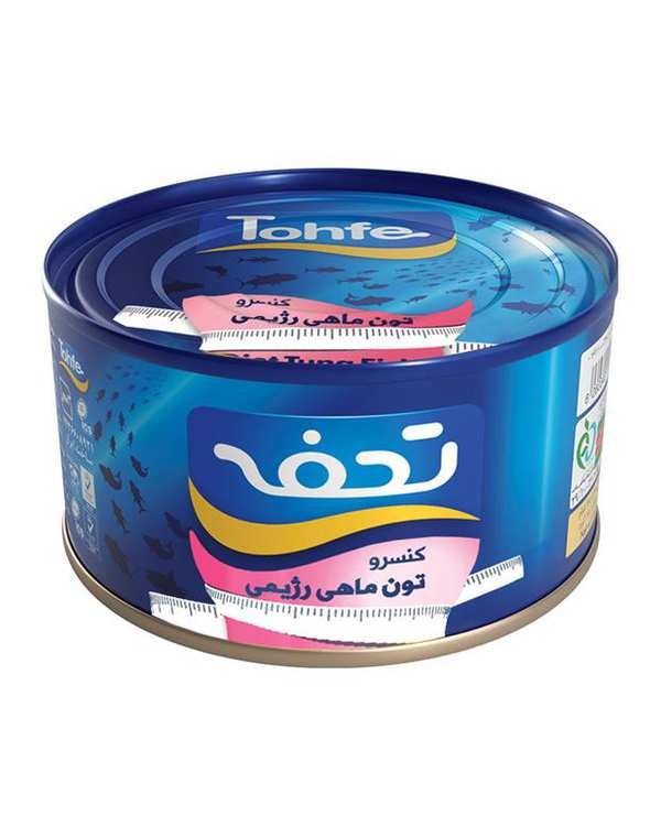 کنسرو ماهی تن رژیمی 180 گرمی تحفه