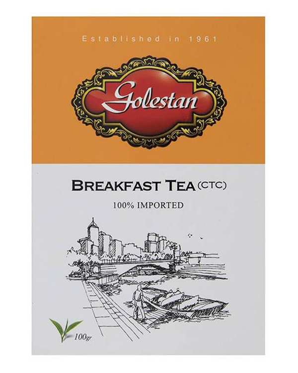 چای صبحانه کله مورچه ای 100 گرمی گلستان