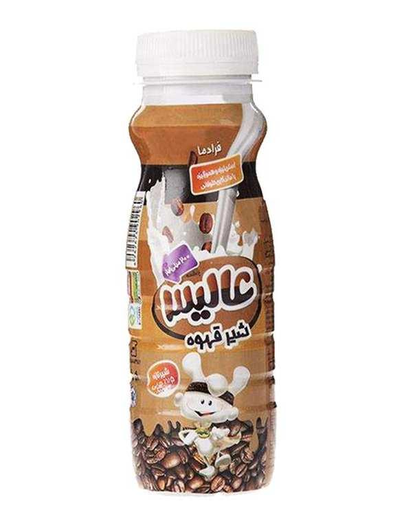 شیر قهوه 200 میلی لیتری عالیس