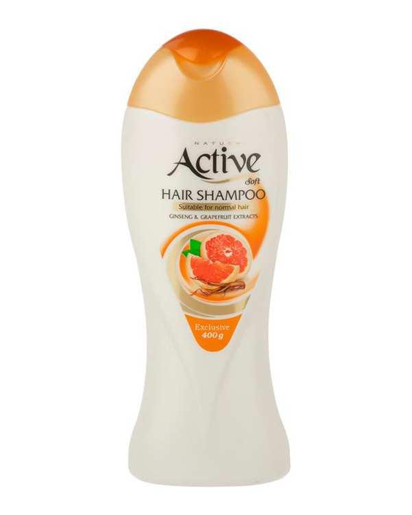 شامپو سر مخصوص موهای معمولی 400 گرمی اکتیو