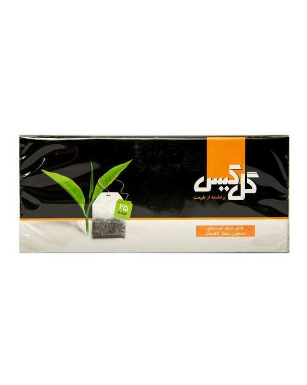 بسته 25 عددی چای سیاه کیسه ای دستچین ممتاز گل کیس