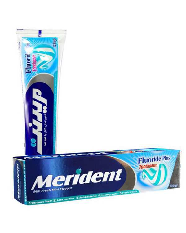 خمير دندان کامل ژله ای با رایحه نعناع 130 گرمی مریدنت