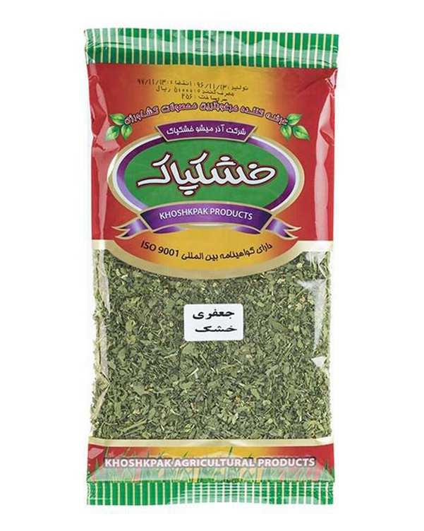 سبزی جعفری خشک 70 گرمی خشکپاک