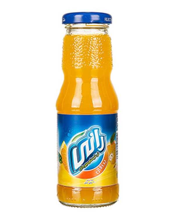 آبمیوه پرتقال بدون گاز 200 میلی لیتری رانی