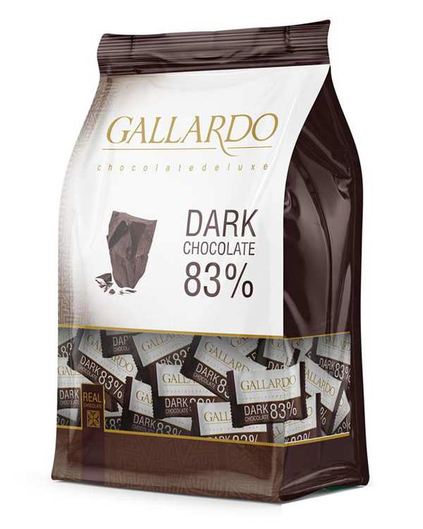 شکلات پاکتی تلخ 83% 330 گرمی گالاردو فرمند