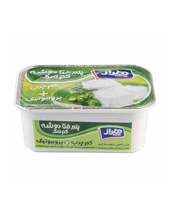 پنیر فتا کم چرب پروبیوتیک کم نمک 300 گرمی هراز
