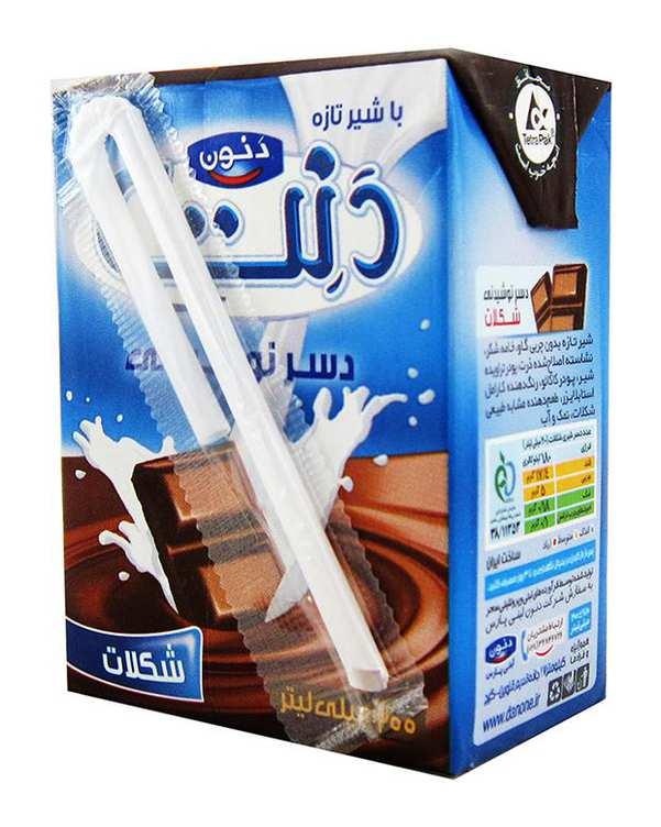 دسر نوشیدنی شکلات 200 میلی لیتری دنت
