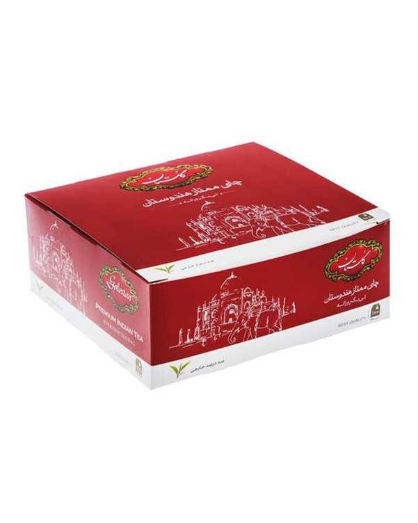 چای کیسه ای ممتاز هندوستان گلستان بسته 100 عددی