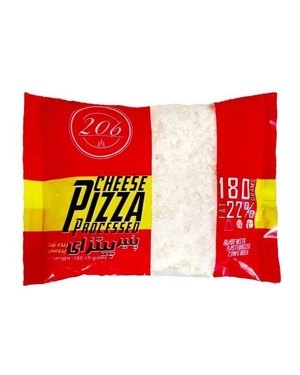 تاپینگ پیتزا رنده شده 180 گرمی 206
