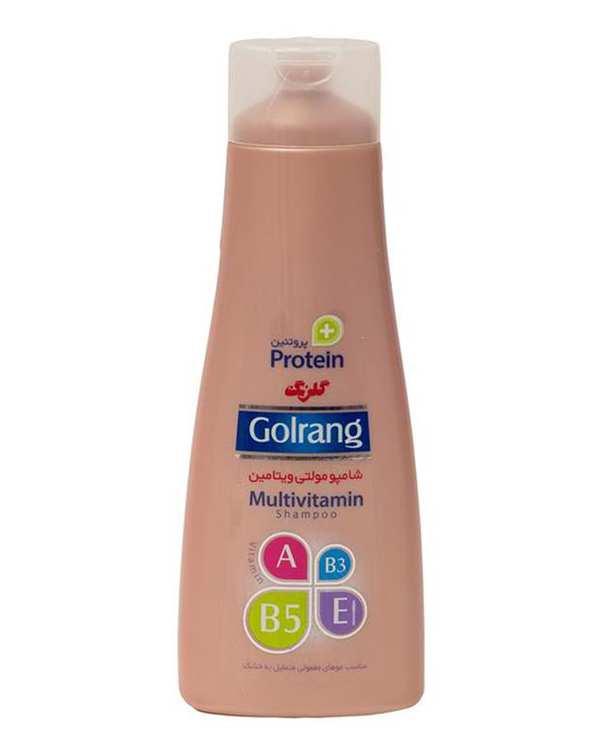 شامپو موهای معمولی متمایل به خشک مدل Plus Protein گلرنگ