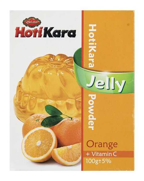 پودر ژله پرتقال 100 گرمی هاتی کارا