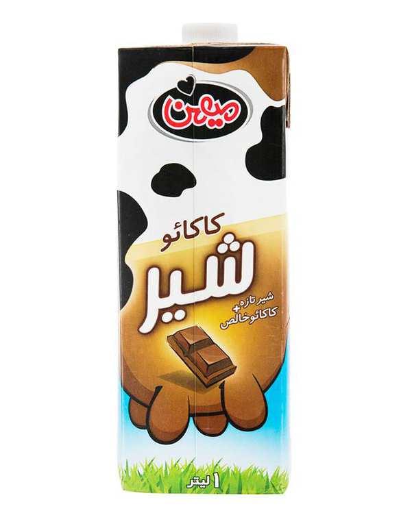 شیرکاکائو 1 لیتری میهن