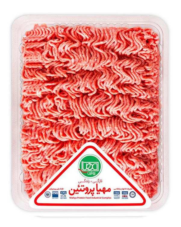 گوشت چرخکرده مخلوط 500 گرمی مهیا پروتئین