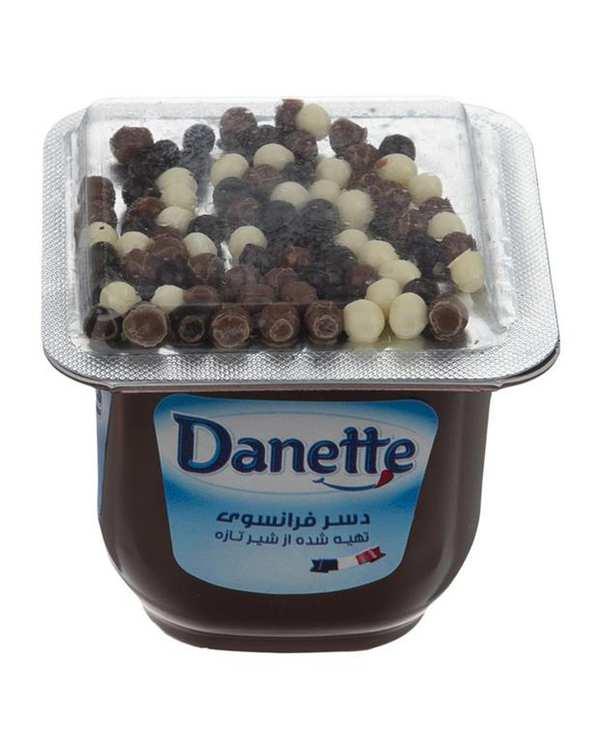 تاپر شکلات با دراژه رنگی 100 گرمی دنت