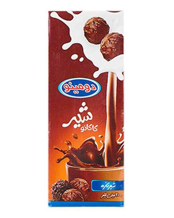 شیر کاکائو استریل 200 میلی لیتری دومینو