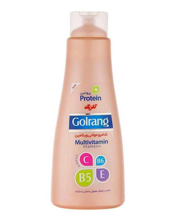 شامپو مولتی ویتامین موهای خشک مدل 900 گرمی گلرنگ